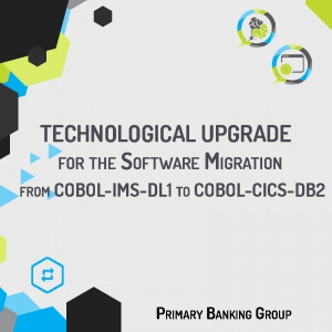 Iso-functional migration of the COBOL-IMS-DL1 application in the payment area into the new platform COBOL-CICS-DB2.