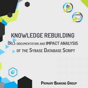 Reconstruction of an easy-to-use functional map of the Sybase Database Script System, available in KPS, with the objective of acquiring a complete Know-how of the software asset and so facilitate the impact analysis for its dismission.