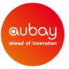 Aubay logo with halo